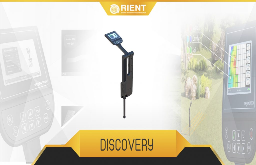 discovery 3D ground scanner